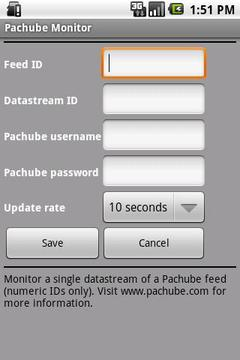 Pachube Widget (Official)