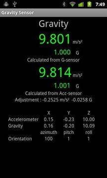 Gravity meter