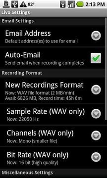 Livo录音机-简化版