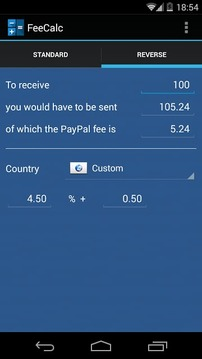 贝宝计算器 PayPal Calculator