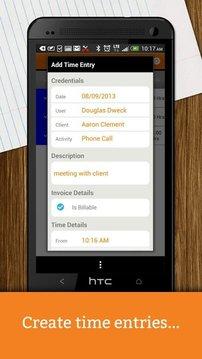 eBillity QuickBooks Timer