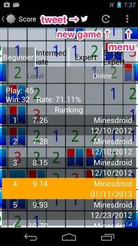 Minesdroid (Minesweeper)