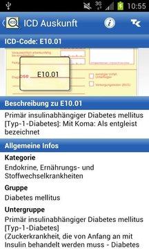 ICD-10 Diagnoseauskunft