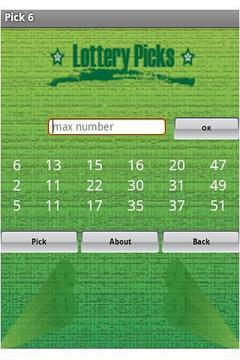Lottery Picks