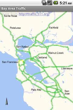 海湾地区的交通 Bay Area Traffic