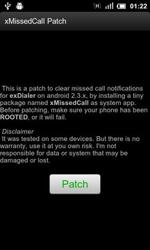 xMissedCall Patch