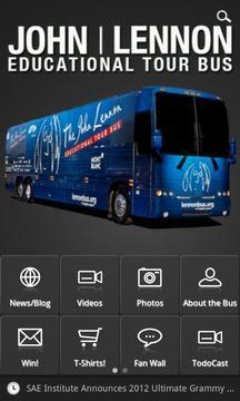 约翰列侬观光巴士