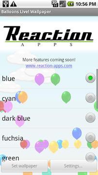 Balloons Live! Wallpaper