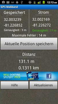 GPS捲尺