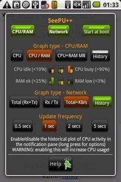 SeePU++:CPU&RAM监控