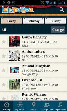 Lollapalooza Official App