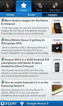Ultimate Google Nexus S App