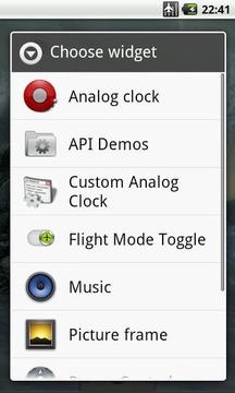 Flight Mode Toggle Widget