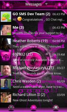 Pink Bionic GO SMS