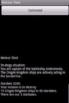 Meteor Fleet - 1st battle