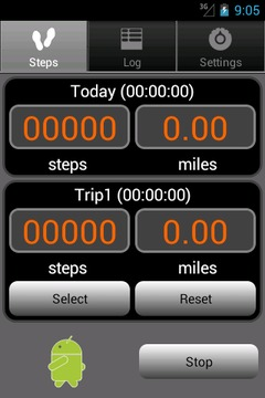 Walkroid - simple pedometer