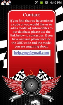 OBD Code Reference