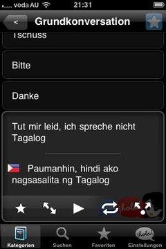 Lingopal菲律宾语,菲律宾语精简版