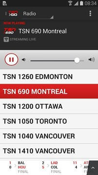 TSN Mobile: Android Edition