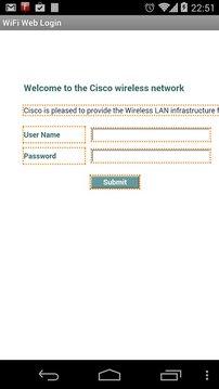 WiFi Web Login