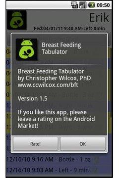 Breast Feeding Tabulator: Free