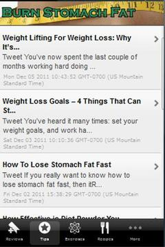 How To Burn Stomach Fat!