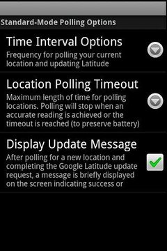 Backitude for Google Latitude