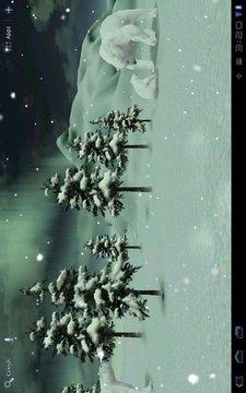 北极冰天雪地