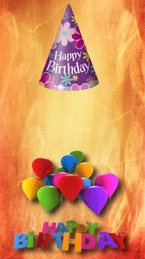 照片贴纸生日