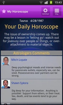 Horoscope - Birth Chart