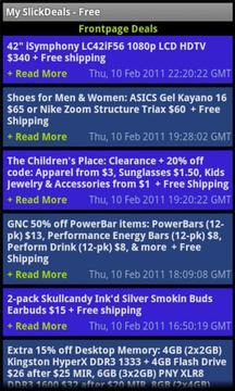 My SlickDeals - Free