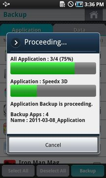 Backup & Restore BackMeUp ...