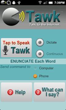 Tawk - Talk to the Internet