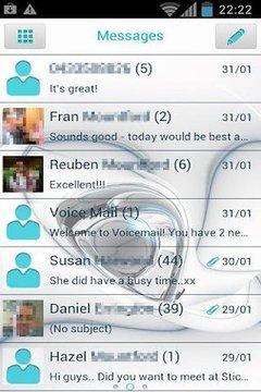 GO SMS Pro AquaDream Theme