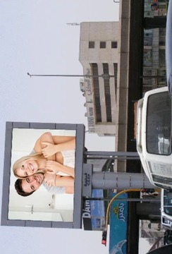 廣告牌相框