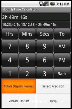 Elapsed Time Calculator