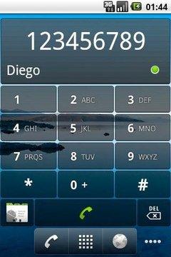 Dialer Widget