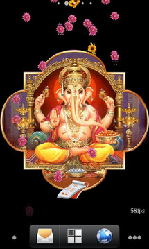 Ganesh Aradhana Live Wallpaper