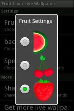 Fruit Loop Live Wallpaper