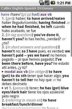 西班牙语柯林字典