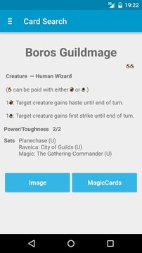 MtG Life Counter & Card Search