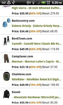 Gear of the Day Outdoor Deals