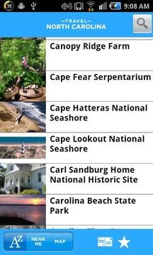 Travel North Carolina
