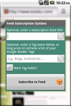 Subscriber (RSS)