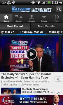 The Daily Show Headlines