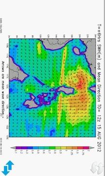 台湾波浪预报图