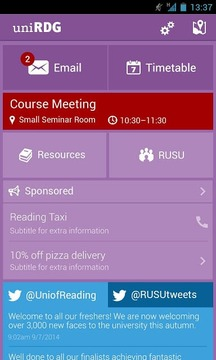 University of Reading UniApp