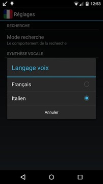 Offline French Italian Dict.