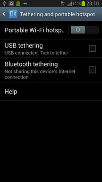 wifi分享/ WiFi Hotspot / Tether