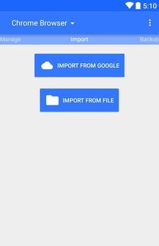 Google书签导入工具